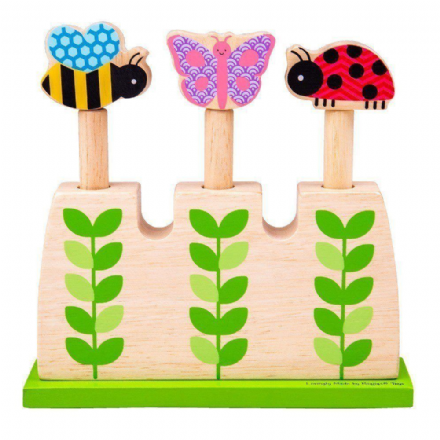 Bigjigs Garden Pop Up Wooden Toy